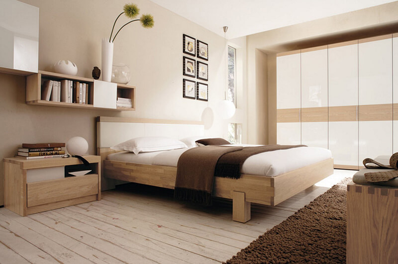 Phòng Ngủ Theo Phong Cách Tối Giản