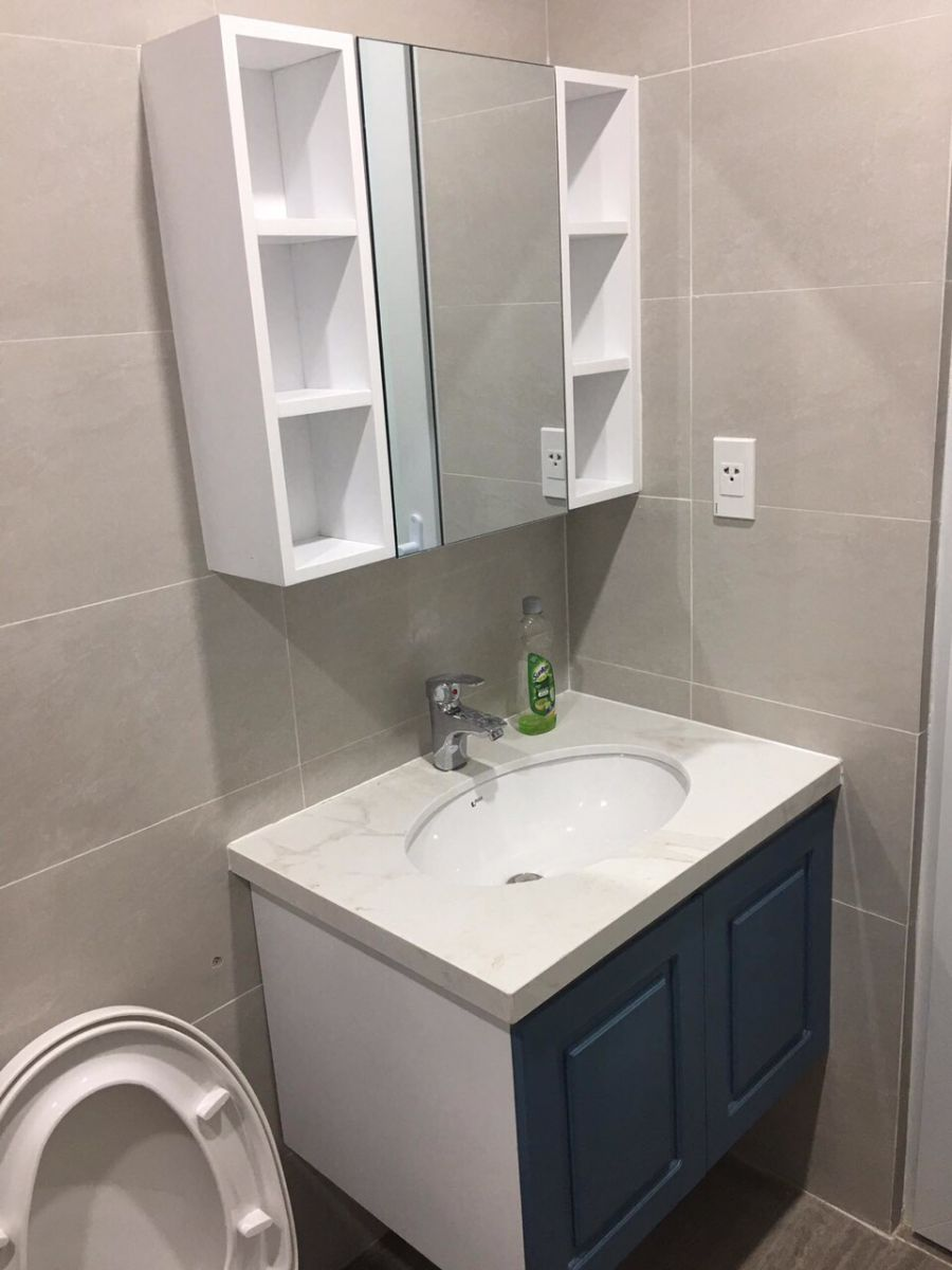 tủ lavabo nhựa